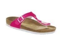 | Akciós női Birkenstock / Birkenstock Gizeh Neon pink széles talp