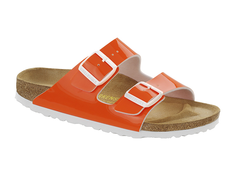 Birkenstock Arizona Neon Orange