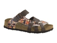 Outlet / Birkenstock Pisa Caleido Brown Soft