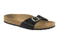 Outlet / Birkenstock Madrid Shiny Snake Black