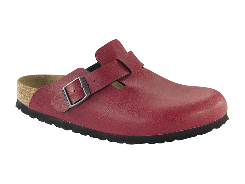 Birkenstock Boston Pull up Bordeau