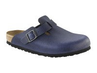 Outlet / Birkenstock Boston Pull up Navy
