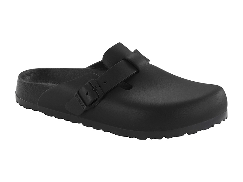 Birkenstock Boston EVA Black Széles talp