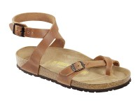 Outlet / Birkenstock Yara Antiq Brown Bőr