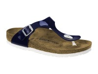 Outlet / Birkenstock Gizeh Dress Blue Széles talp