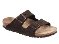 Outlet / Birkenstock Arizona Mocca Velur