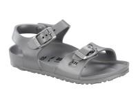 | Gyerek papucsok / Birkenstock Rio EVA Metal Silver normál talp