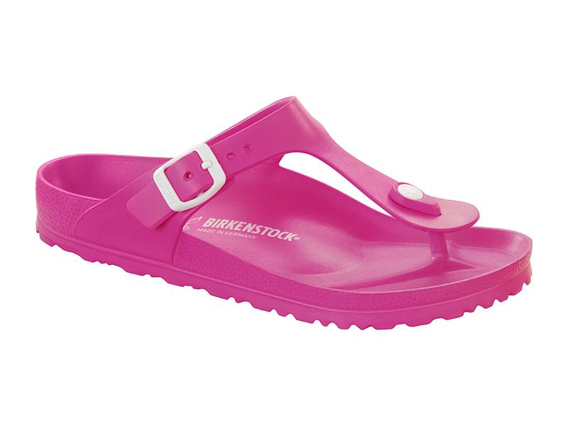 Birkenstock Gizeh EVA Neon Pink Széles
