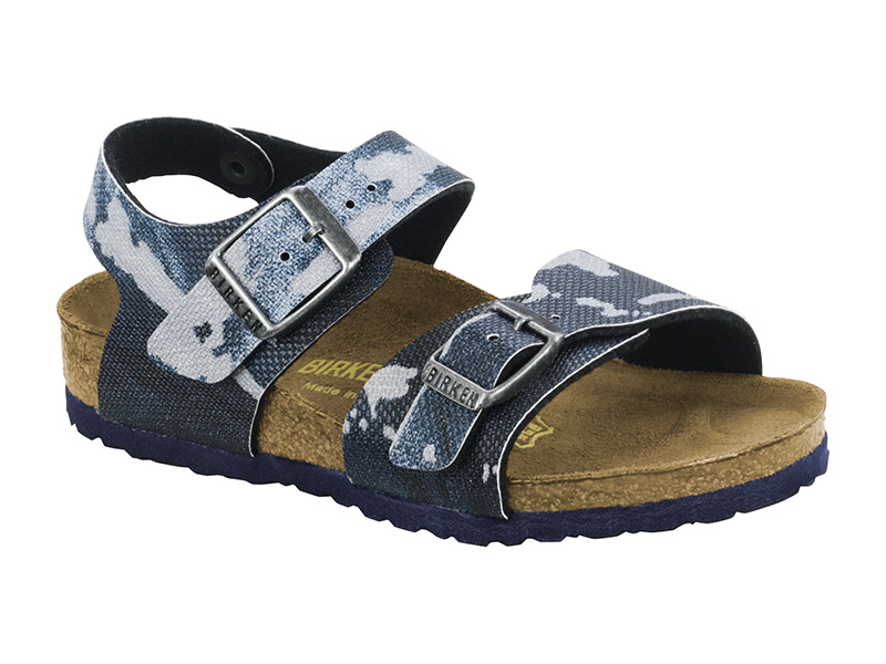 Birkenstock New York Camo Blue Gyermek