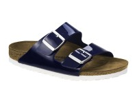 Outlet / Birkenstock Arizona Dress Blue Lakk