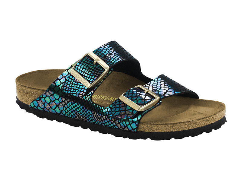 Birkenstock Arizona  Shiny Snake Multi