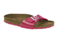 | Egypántos papucsok / Birkenstock Madrid Magic Rose normál talp