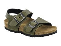 Gyermek / Birkenstock New York Pull Up Olive