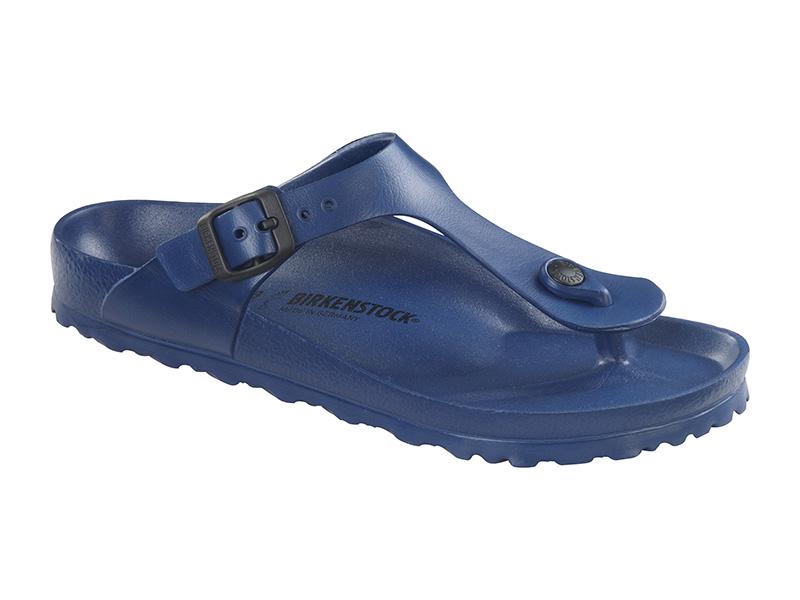 Birkenstock papucs Gizeh EVA Kék Széles