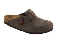 Outlet / Birkenstock Boston Brushed Habana Széles talp