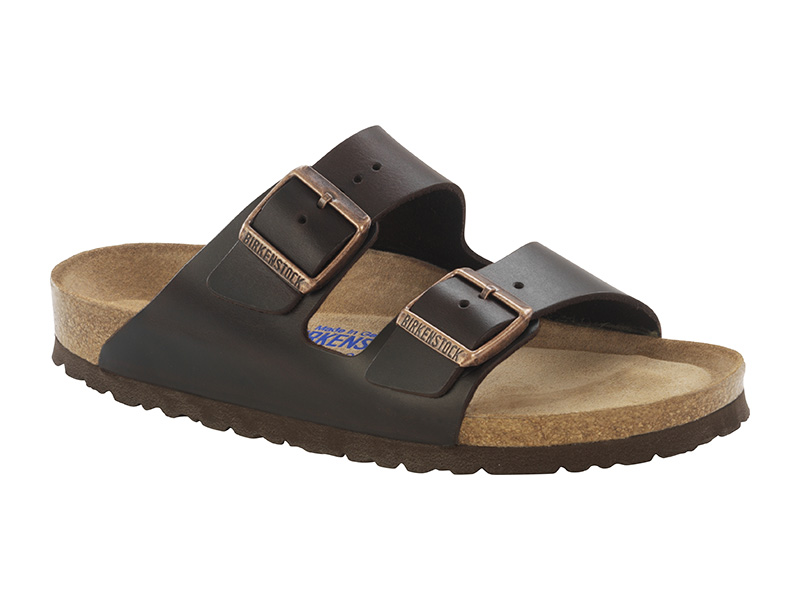 Birkenstock Arizona Brown Bőr Soft Széles talp