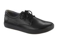   Férfi cipők / Birkenstock Navarino Black széles talp