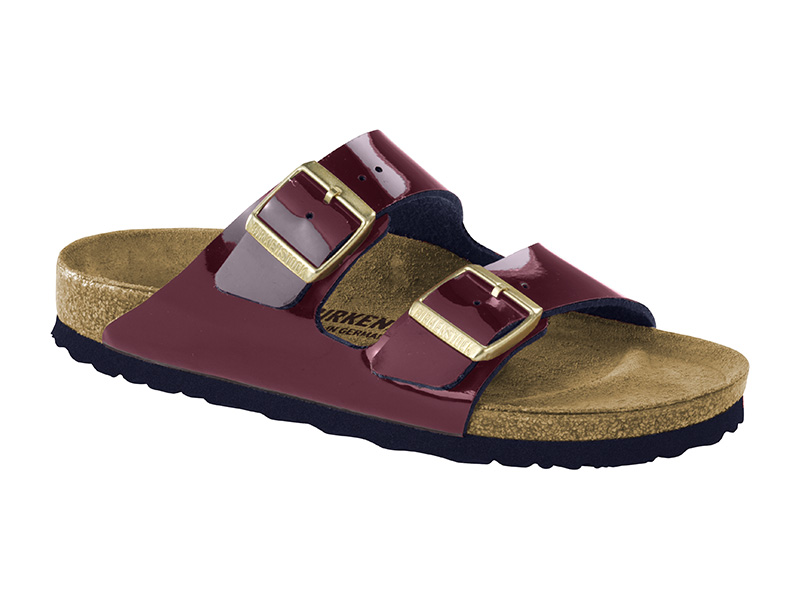 Birkenstock Arizona Wine Lakk