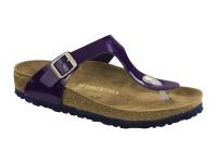 | Akciós női Birkenstock / Birkenstock Gizeh Purple Patent széles talp