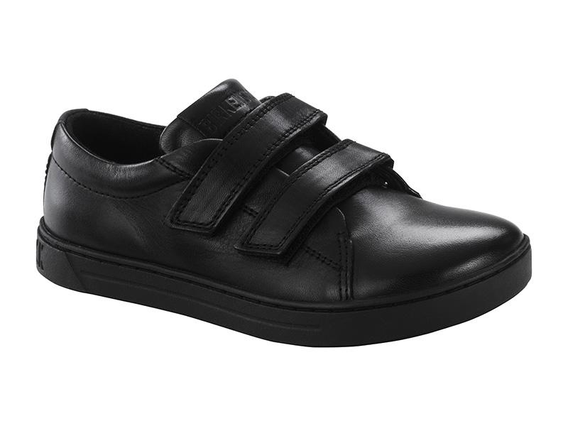 Birkenstock Aran Velcro Black Bőr