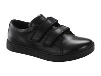 Cipő / Birkenstock Aran Velcro Black Bőr