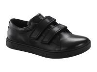 Outlet / Birkenstock Arran Velcro Fekete Széles