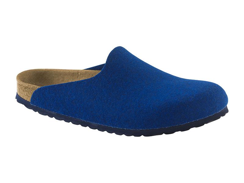 Birkenstock Amsterdam Blue Filc  Széles