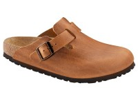 Klumpa / Birkenstock Boston Antique Brown Bőr