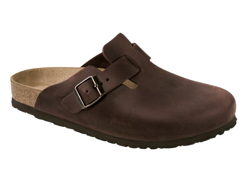 Birkenstock Boston Habana Bőr