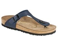 | Lábujjközis papucsok / Birkenstock Gizeh Blue széles talp