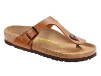 Outlet / Birkenstock Gizeh Antique Brown Bőr
