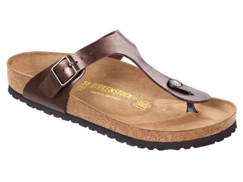 Birkenstock Gizeh Graceful Toffee Széles
