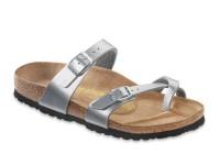 | Lábujjközis papucsok / Birkenstock Mayari Silver széles talp