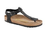 | Szandálok / Birkenstock Kairo Nubuk bőr Fekete keskeny talp
