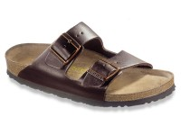 Outlet / Birkenstock Arizona Sötétbarna Bőr Soft