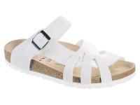 Szandál / Birkenstock Pisa White