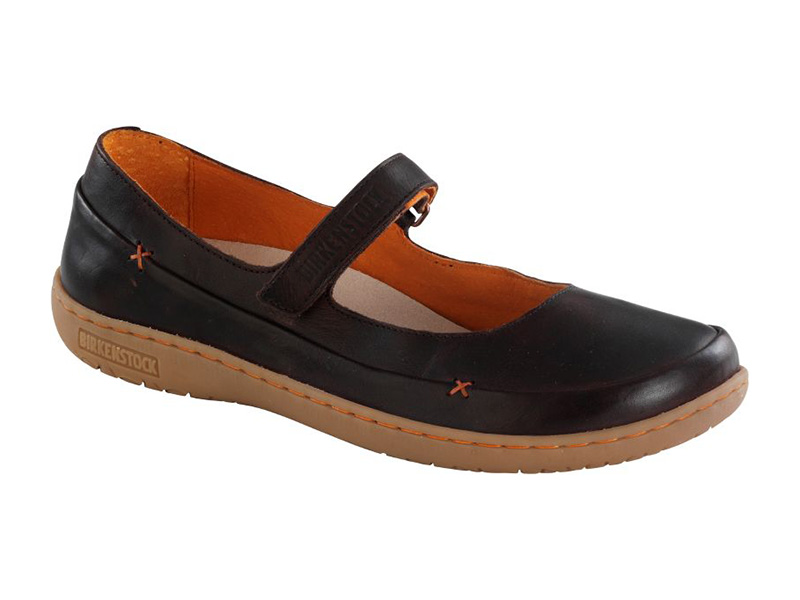 Birkenstock Iona Dark Brown Bőr