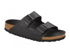 Papucs / Birkenstock papucs Arizona Triples Black Széles