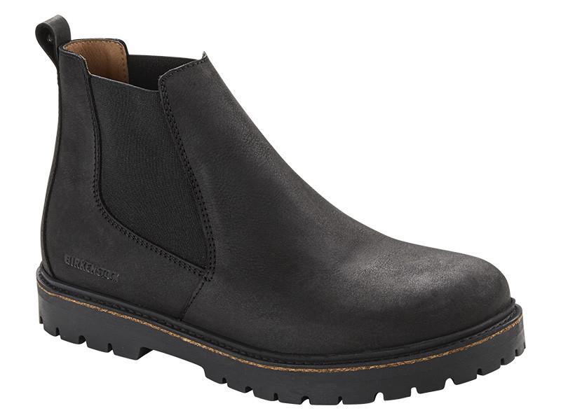 Birkenstock cipő Stalon Fekete Bőr Széles