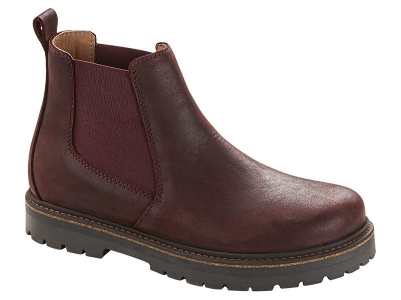 Birkenstock cipő Stalon Burgundy Bőr Széles
