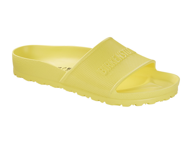 Birkenstock papucs Barbados Eva Vibrant Yellow Széles