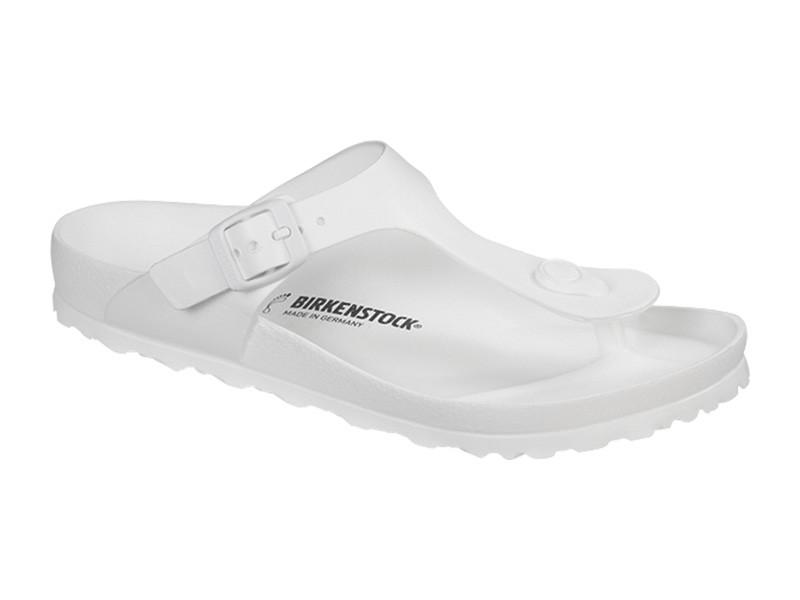 Birkenstock papucs Gizeh EVA Fehér Széles