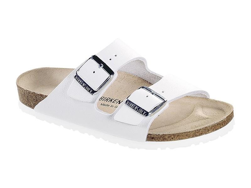 Birkenstock papucs Arizona Fehér Bőr