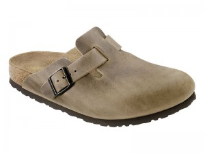 Outlet / Birkenstock Boston Tobacco Bőr