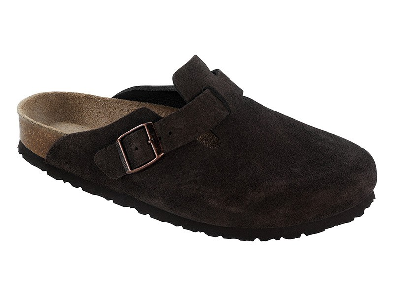 Birkenstock Boston Mocca Velur