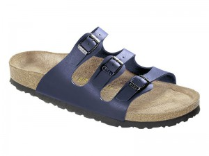 Outlet / Birkenstock Florida Kék Soft