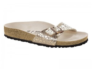 Outlet / Birkenstock Madrid Metallic Stones Copper