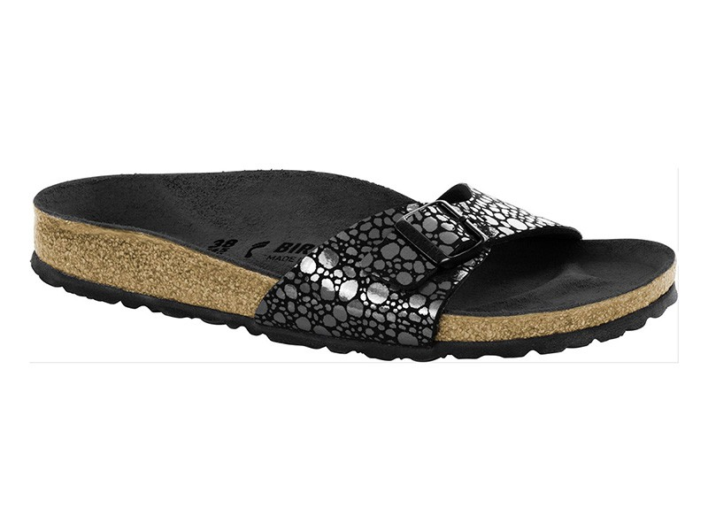 Birkenstock Madrid Metallic Stones Black