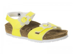 Outlet / Birkenstock Rio Kids Candy Yellow Gyermek