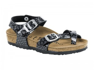 Szandál / Birkenstock Taormina Magic Snake Black